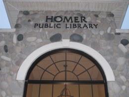 Homer Public Library Logo